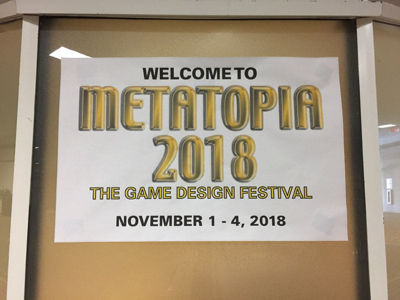 A great experience at Metatopia