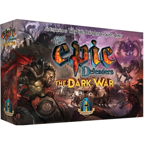 The Dark War: Tiny Epic Defenders expansion