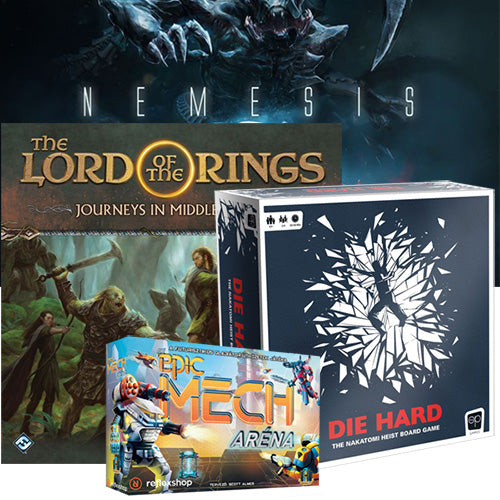 Coming Soon: The Lord of the Rings: Journeys in Middle-earth, Nemesis and more
