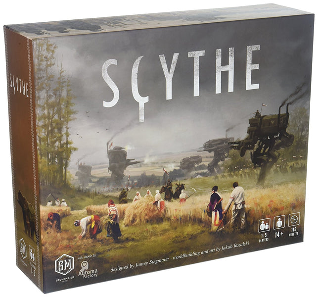 Playing Scythe solo with the Automa.