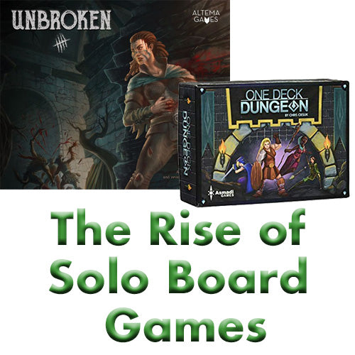The Rise of Solo Board Games