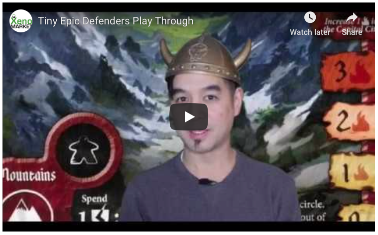 Tiny Epic Defenders: 2nd Edition Play through