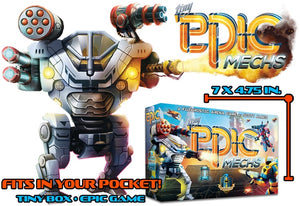 Kickstarter: Tiny Epic Mechs