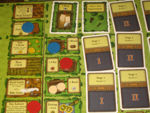 Agricola Worker placement