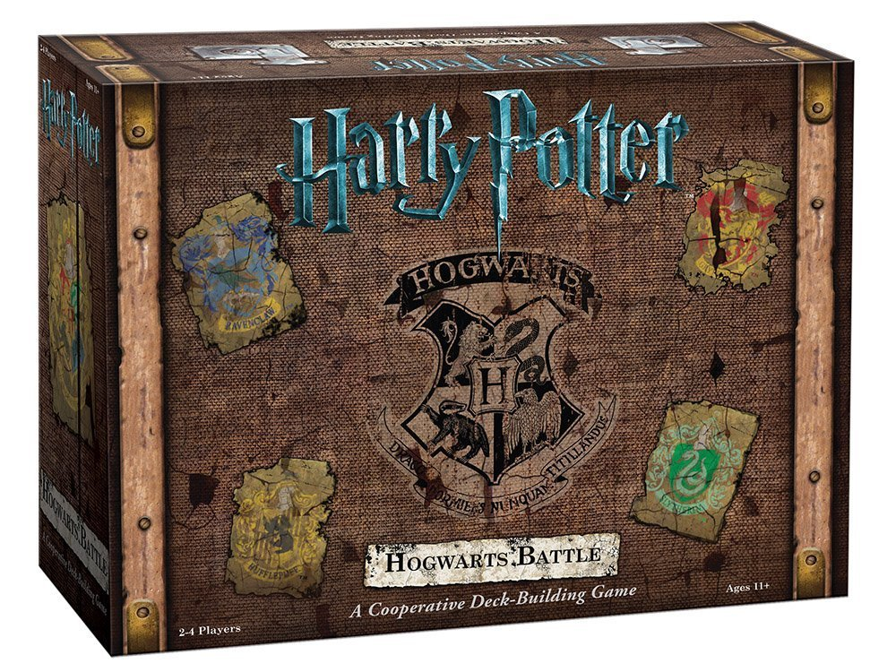 Harry Potter Hogwarts Battle A Cooperative Deck Building Game. from USAopoly - Xenomarket