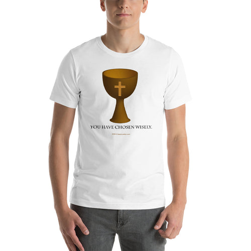 Holy Grail Short-Sleeve Unisex T-Shirt from Xenomarket - Xenomarket