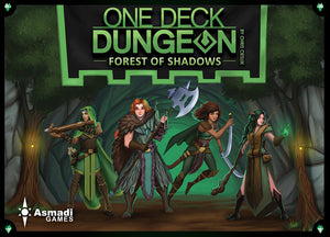 One Deck Dungeon: Forest of Shadows Board Game from Asmadi Games - Xenomarket