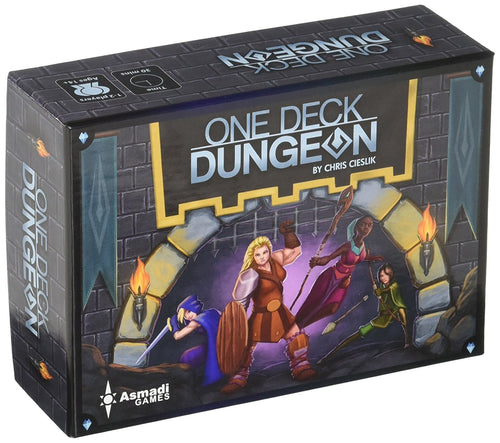 One Deck Dungeon from Asmadi Games - Xenomarket