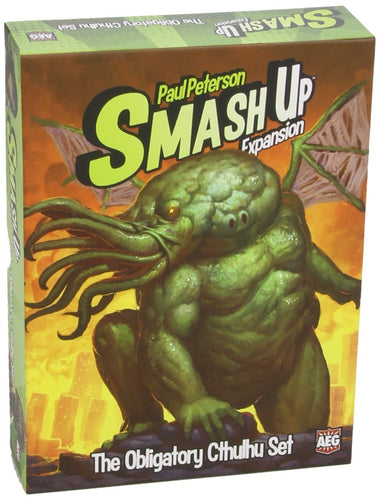 Smash Up - The Obligatory Cthulhu Expansion Game