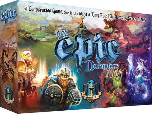Tiny Epic Defenders 2nd Edition Strategy Board Game