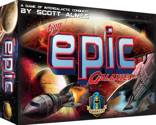 Tiny Epic Galaxies Space Game