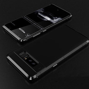Aluminum Phone Case black Ultra Slim Shockproof Phone Case for Samsung Galaxy Note 8 Phone Case Bank