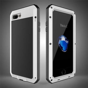 Aluminum Phone Case White / For iphone 5 5s SE Aluminum Phone Case for iPhone iPhone 5/5S/SE/6/6S/6 Plus/7/7 Plus/8/8 Plus/X