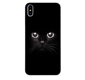 Cats iPhone Case for iPhone 5, 6, 6 Plus, 7, 7 Plus, 8, 8 Plus, X, XS, XS Max, XR - $12.99 - Cat Cases - Animal Lovers Phone Case, Cats Phone Case, UF1, Upsell 1 - Color Black Cat - Material For iPhone 5 5S SE - - Phone Case Bank