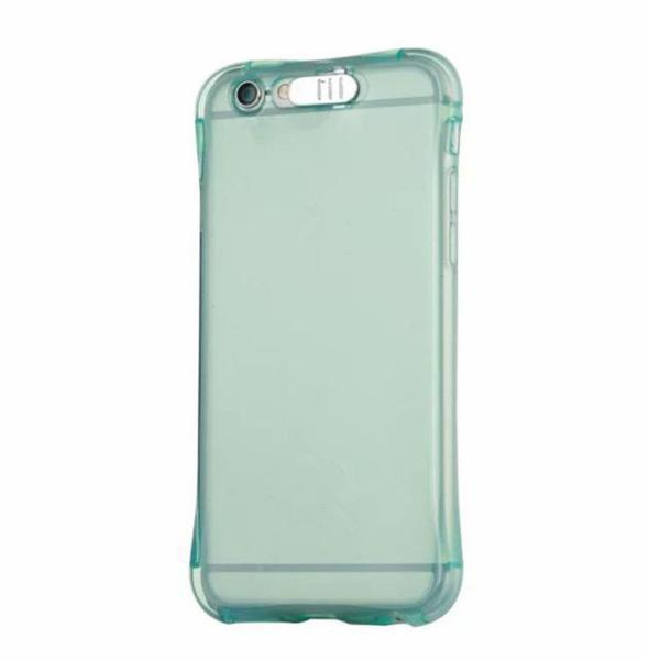LED iPhone Case Blue / For iPhone 5 5S 5SE LED Flash Lighting Up Transparent iPhone Case Phone Case Bank