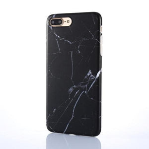 Marble Phone Case Black 1 / For iPhone 8 Luxury Marble Pattern IPhone Case Phone Case Bank