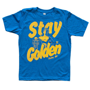 Stay Golden Tulsa Tee - Youth