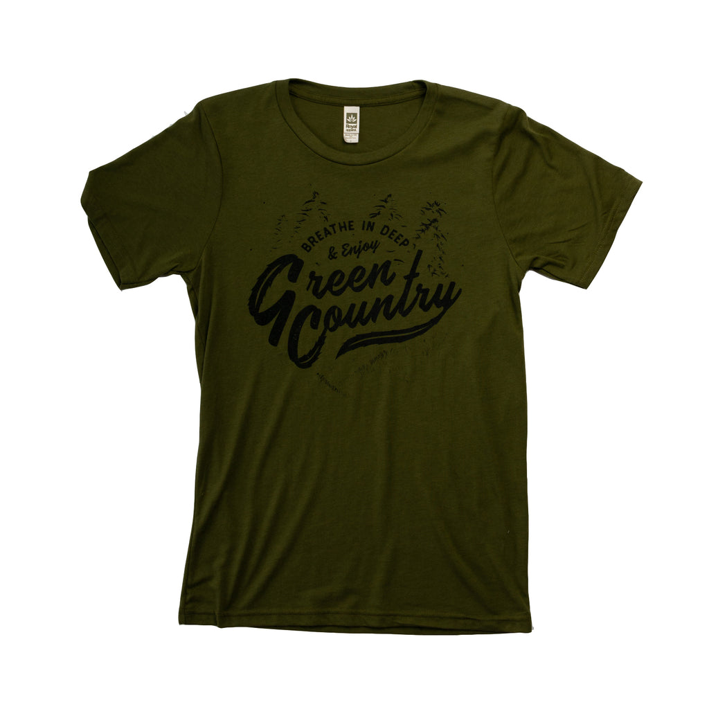 Green Country Tee - Organic Hemp Limited Edition