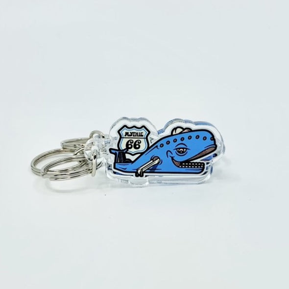 Blue Whale Keychain