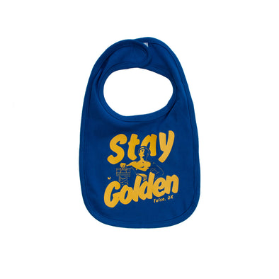 Stay Golden Baby Bib