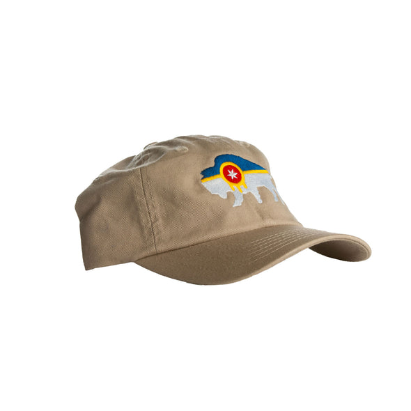 Youth Bison Flag Hat