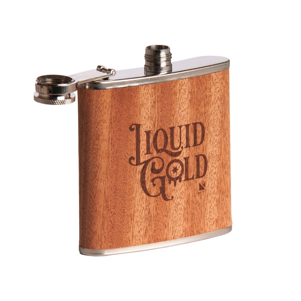 Liquid Gold Flask