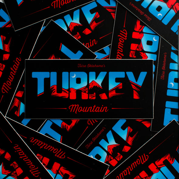 Turkey Mountain Bumper Sticker
