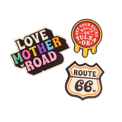 Route 66 Mini Sticker pack