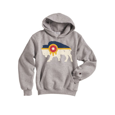 Tulsa Bison Youth Champion Hoodie
