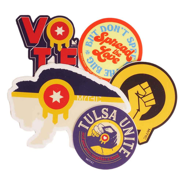 Tulsa Sticker pack