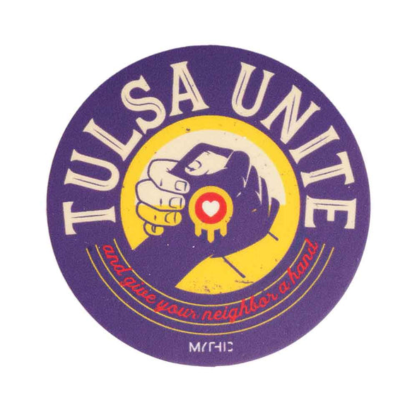 Tulsa Unite Sticker