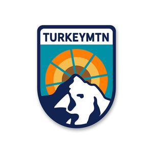 Turkey Mountain Sticker