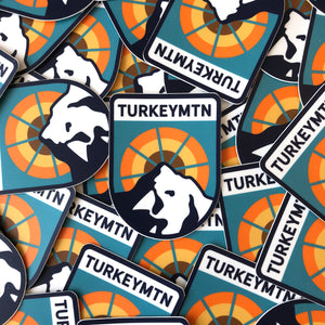 Sticker - Turkey Mountain