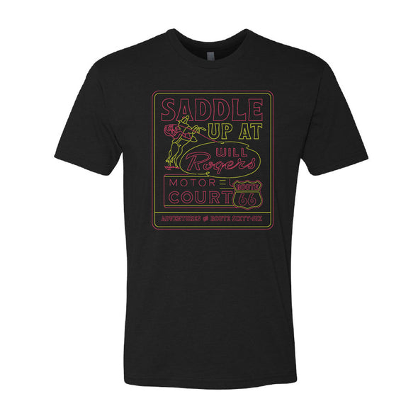 Will Rogers Motor Court Route 66 T-Shirt