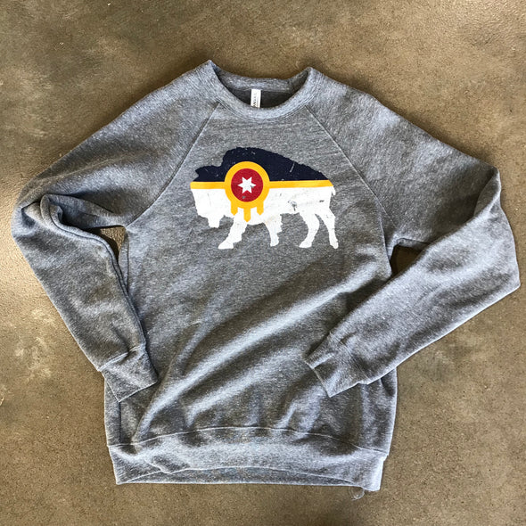 Bison Flag Sweatshirt