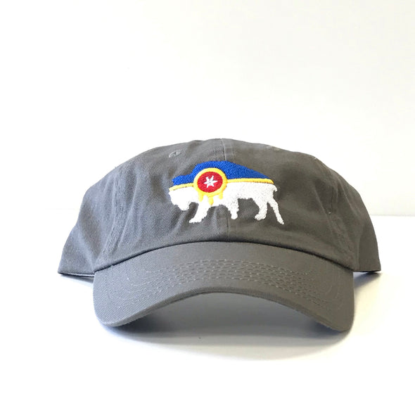 Bison Tulsa Flag Dad Hat