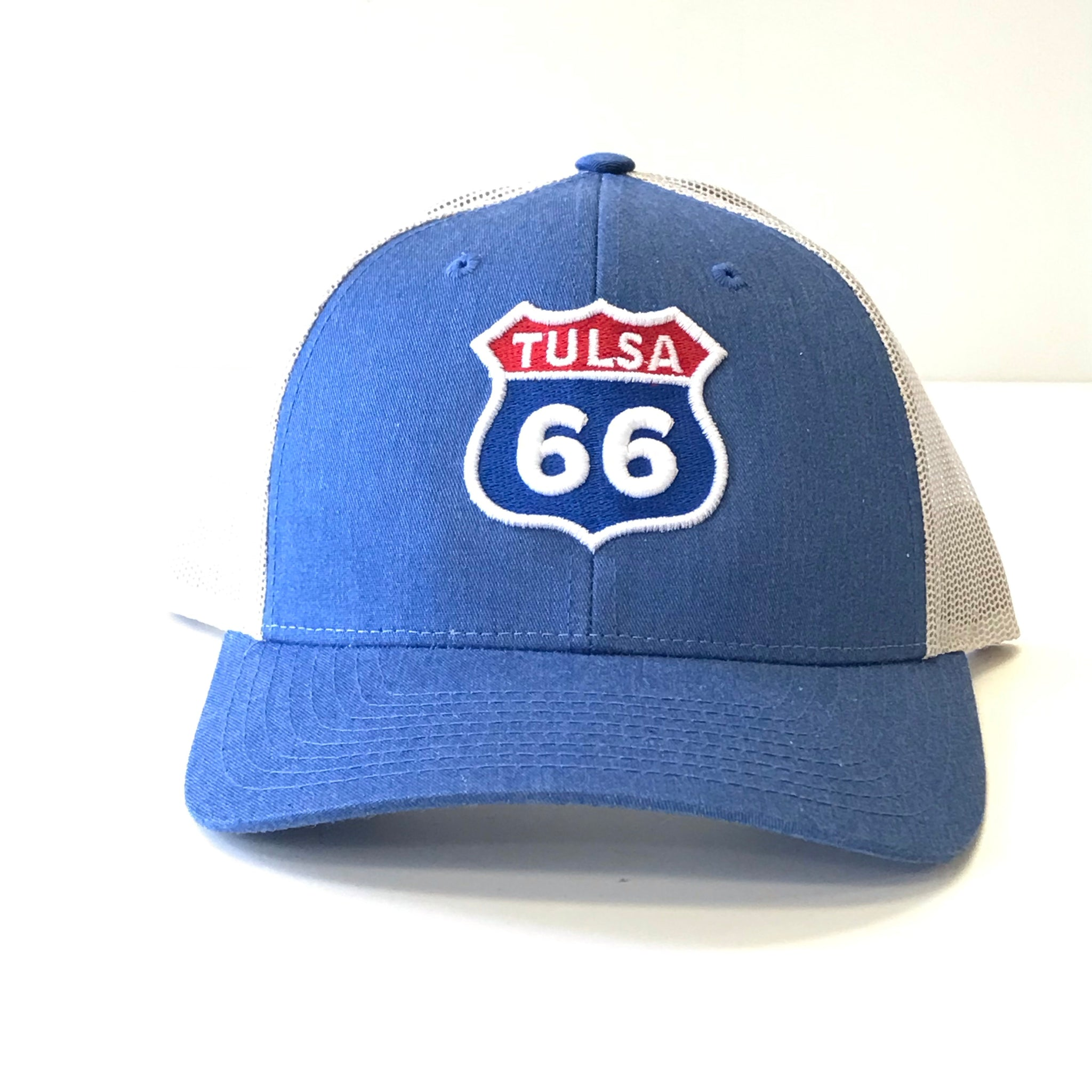 Tulsa 66 Hat - Route 66 Shield Hat