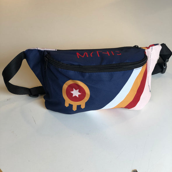 Tulsa Flag Fanny Pack or Shoulder Bag