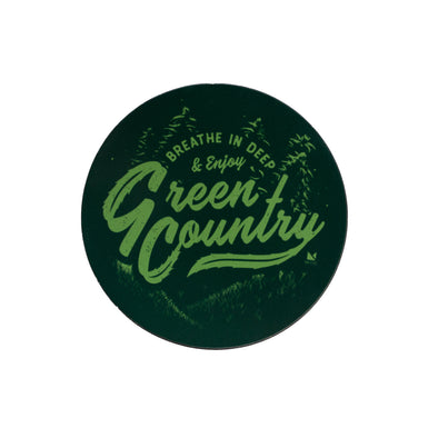 Green Country Magnet