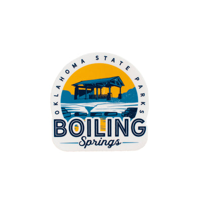 Boiling Springs State Park Sticker