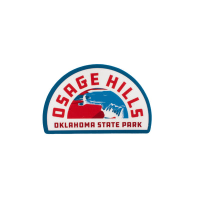 Osage Hills Sticker