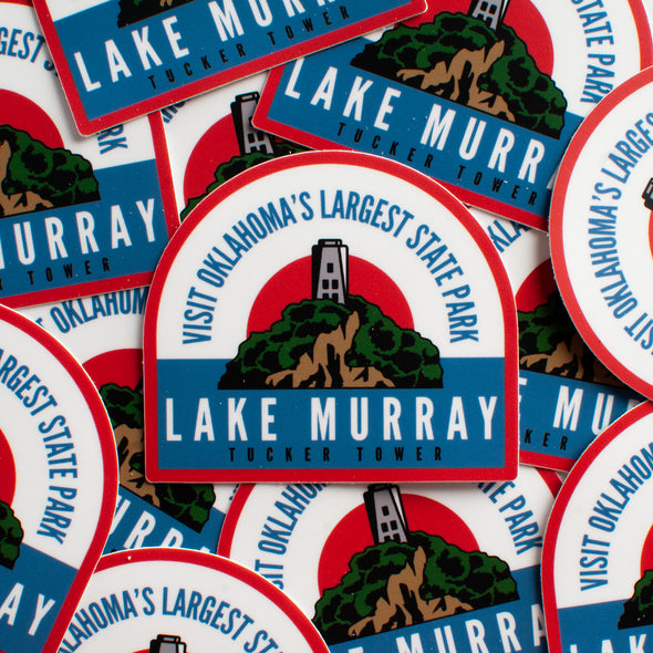 Lake Murray Sticker