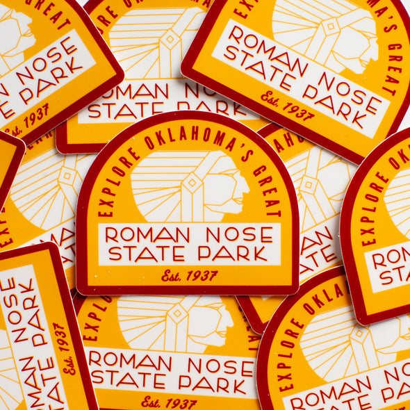 Roman Nose State Park Sticker