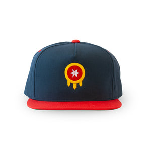 Tulsa Flag Hat - Shield - Flatbill