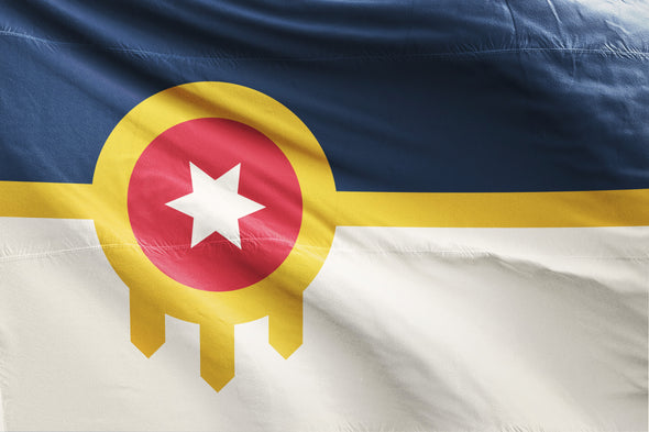 Tulsa Flag - 5 Sizes Available