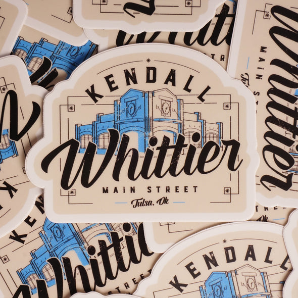 Kendall Whittier Tulsa Sticker