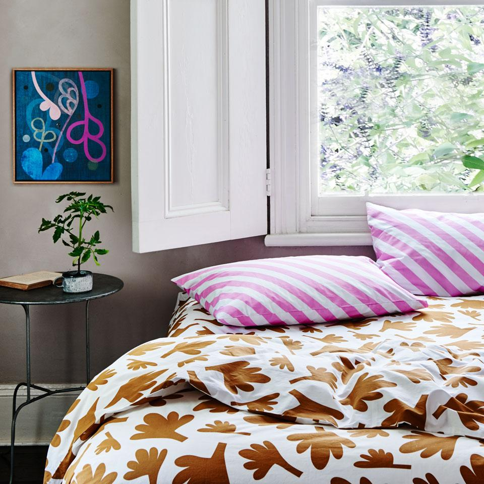 Fern Queen Quilt Cover by Castle & Things