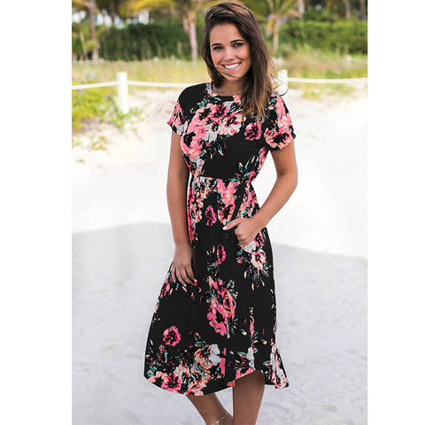 Kathryn - Floral Dress
