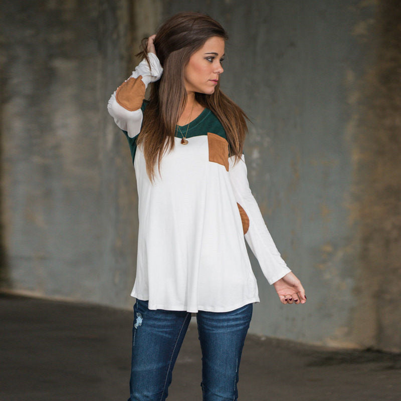 Whitney - Patchwork Top