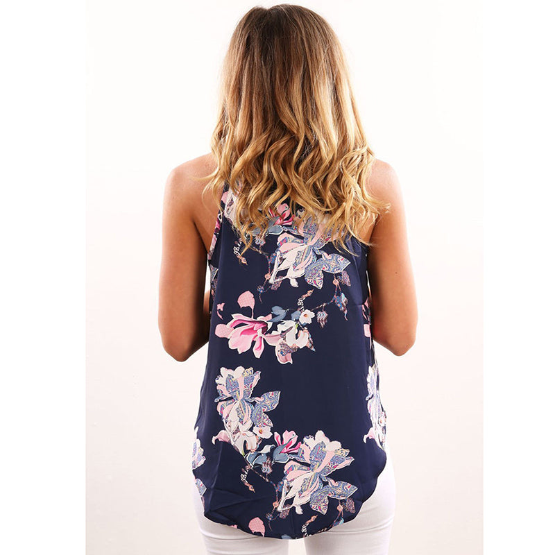 Ambree - Floral Sleeveless Top